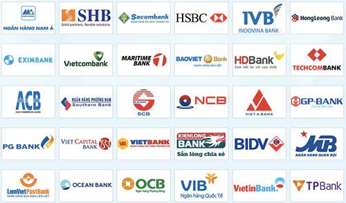 Danh sách ngân hàng tại Việt Nam
