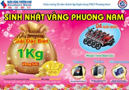 Bữa tiệc 'Sinh nhật vàng Phương Nam'