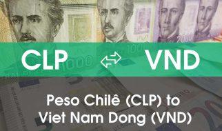Chuyển đổi Peso Chilê (CLP) sang Việt Nam Đồng (VND)
