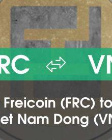 Chuyển đổi Freicoin (FRC) sang Việt Nam Đồng (VND)