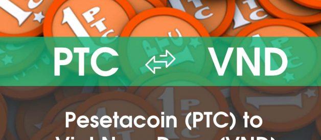 Chuyển đổi Pesetacoin (PTC) sang Việt Nam Đồng (VND)