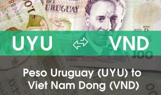 Chuyển đổi Peso Uruguay (UYU) sang Việt Nam Đồng (VND)