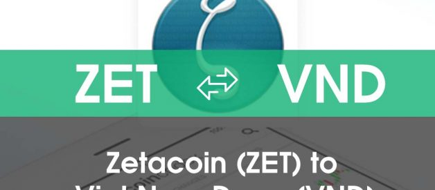 Chuyển đổi Việt Nam Đồng (VND) sang Zetacoin (ZET)
